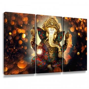 """Quadro Decorativo Ganesha"